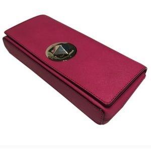 kate spade | Kiera Hot Pink Clutch Originally $178
